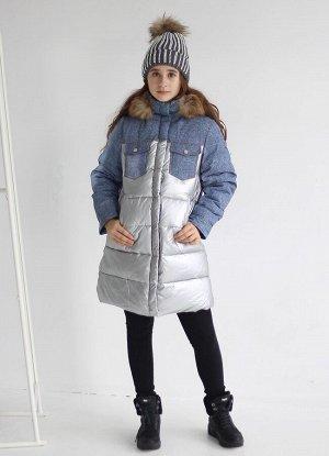 19195 Пальто для девочки Anernuo
