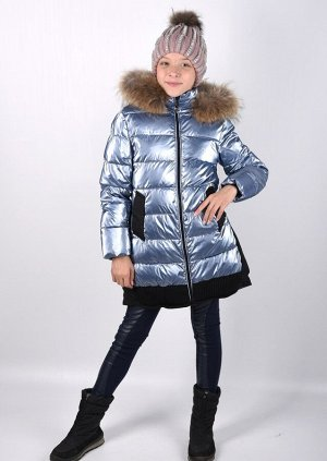 19153 Пальто для девочки Anernuo