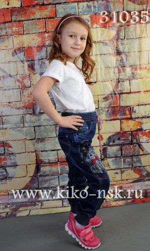 31035 Джинсы для девочки YUKE