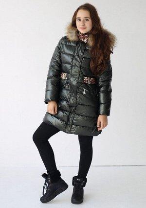 19198 Пальто для девочки Anernuo
