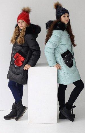19138 Пальто для девочки Anernuo