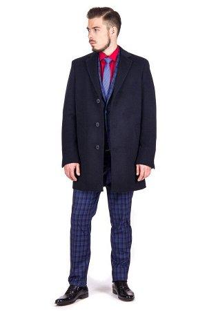 Пальто Сезон демисезонные. Цвет синий. Состав шерсть-75%, вискоза-15%, полиэстер-10%. Бренд Svyatnyh
