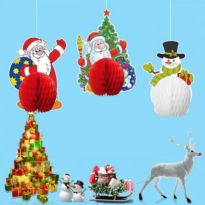 💫Новый 2021 год! Много подарков и декора!💫 — бумажные гирлянды, фонарики — Все для Нового года