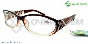 Корригирующие очки Vizzini Без покрытия 0806 Коричневый