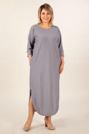 Платье Мона светло-серый