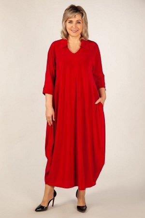 Платье Эмили красный