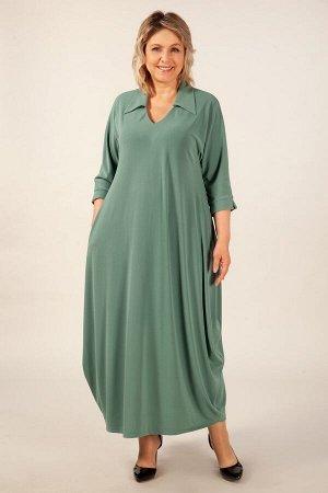 Платье Эмили фисташковый