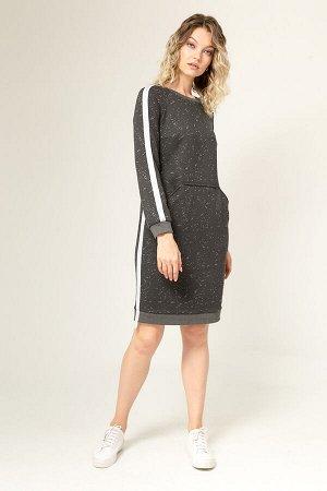 Платье из футера, Платье 91115-4019