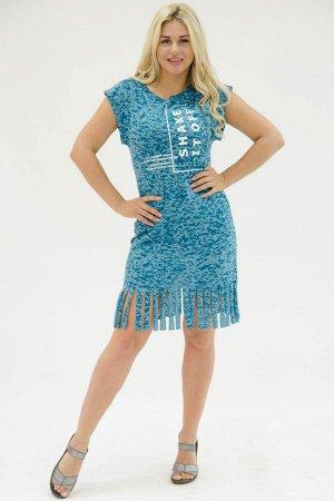 Платье П 757 (изумрудный)