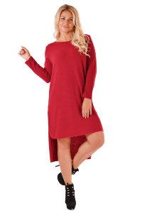 Платье П 447 (бордовый)