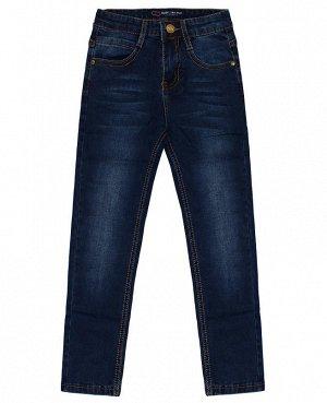 Джинсовые синие брюки для мальчиков Цвет: синий