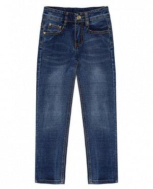 Джинсовые синие брюки для мальчика Цвет: синий