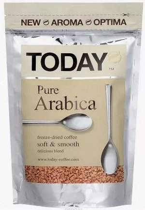 TODAY Pure Arabica фриз 75 гр. Пакет 1/12