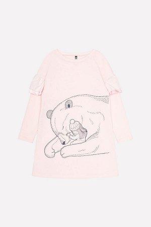 Платье для девочки Crockid КР 5555 светло-розовый к219