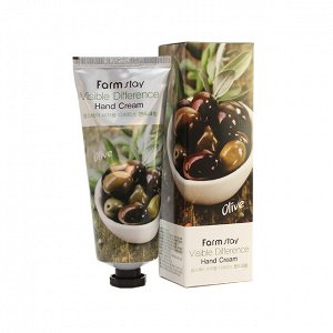 Farm Stay Visible Difference Olive Крем для рук с экстрактом оливы 100 мл