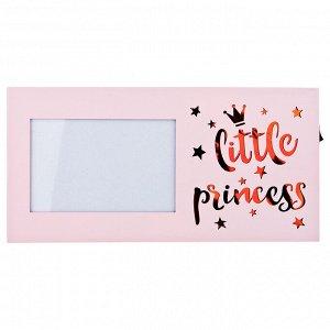 "Фоторамка с led ""little princess"" 30*2,5*15 см без упаковки (мал-4/кор=24 шт.)"