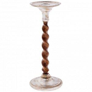 Подсвечник на 1 свечу 12*12*29 см (кор=6шт.)