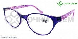 Корригирующие очки FARSI Без покрытия A0909 Фиол