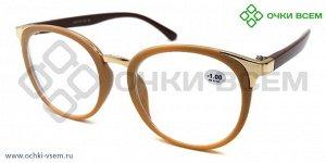 Корригирующие очки FARSI Без покрытия A3355 Бежевый new