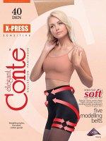 X-Press 40 Колготки с сильной коррекцией «7 зон» и эффектом push-up