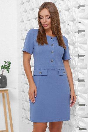Платье 1843 джинсовый