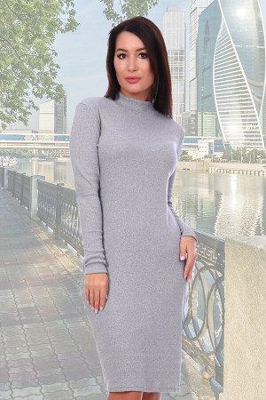 Платье Натали: Ткань: кашкорсе  Состав: 95% хлопок, 5% лайкра  Платье приталенного силуэта, рукав длинный. Горловина-стойка