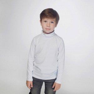 Водолазка для мальчика, белый