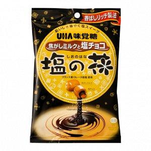 UHA Salted Chocolate - обожженная карамель с солью и шоколадом