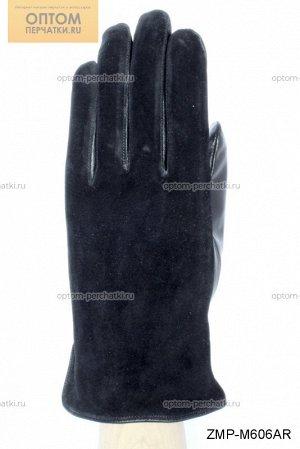 Перчатки мужские комбинированные