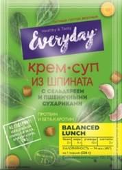 EVERYDAY Крем-суп шпинат, сельдерей, сухарики 26 г