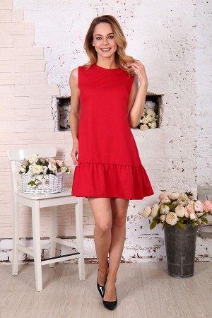 Д508 Платье Валерия (красное)