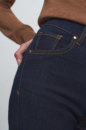 Брюки джинсовые жен. MUT темно-голубой