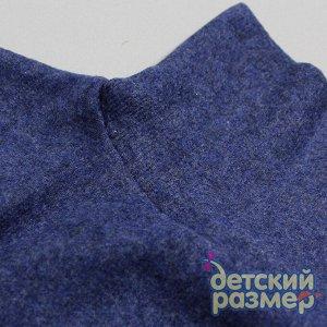 Водолазка (рубчик/начес) серый