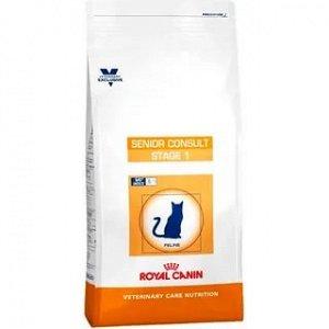 Royal Canin VCN SENIOR CONSULT STAGE 1 (ВКН СЕНЬОР КОНСАЛТ СТЭЙДЖ 1)питание для котов и кошек старше 7 лет, не имеющих видимых признаков ст