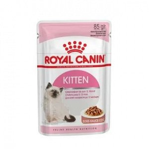 KITTEN (КИТТЕН)Мелкие кусочки в соусе для котят от 4 до 12 месяцев
