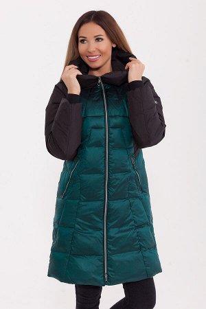 #80535 Пальто Зеленый
