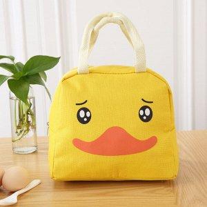 Текстильная сумка для ланчей.