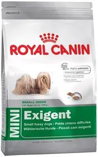 MINI EXIGENT (МИНИ ЭКЗИДЖЕНТ) Питание для собак, привередливых в питании, в возрасте от 10 месяцев и старше