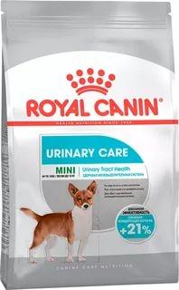 Royal Canin MINI URINARY CARE (МИНИ УРИНАРИ КЭА)Питание для собак с чувствительной мочевыделительной системой в возрасте от 10 месяцев до 8
