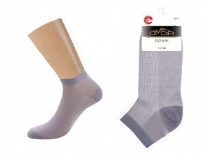 Очень тонкие укороченные носки из хлопка с сеткой на подъеме