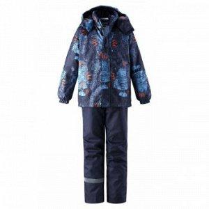 Комплект зимний(куртка, брюки)+поддева Лес*си