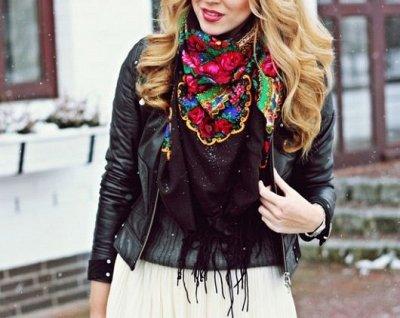 🌞Солнечные цены! От Мала до Велика!Одевайся вся семья!🍃 — Роскошный русский платок! — Платки и шарфы