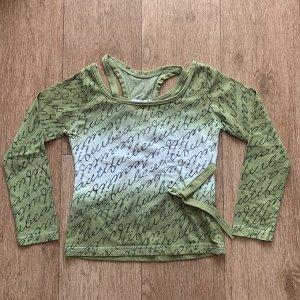 Джемпер зеленый