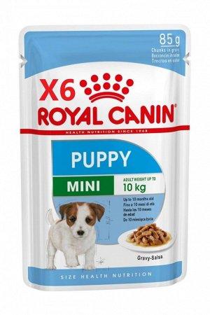 MINI PUPPY (МИНИ ПАППИ)   Влажный корм для щенков собак мелких размеров (вес взрослой собаки от 4 до 10 кг) в возрасте с 2 до 10