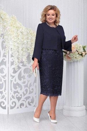 Жакет, платье Ninele Артикул: 5744 т.синий