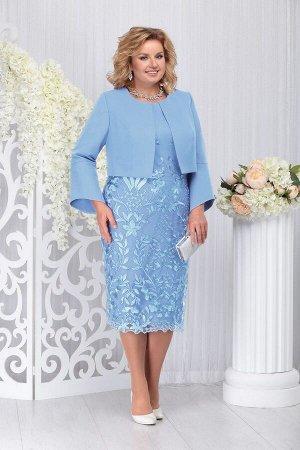 Жакет, платье Ninele Артикул: 5744 голубой
