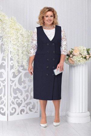 Блуза, платье Ninele Артикул: 7254 т.синий