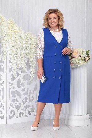 Блуза, платье Ninele Артикул: 7254 василек