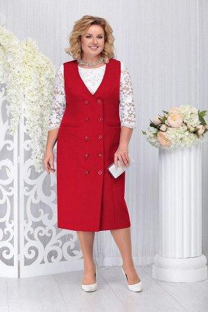 Блуза, платье Ninele Артикул: 7254 красный