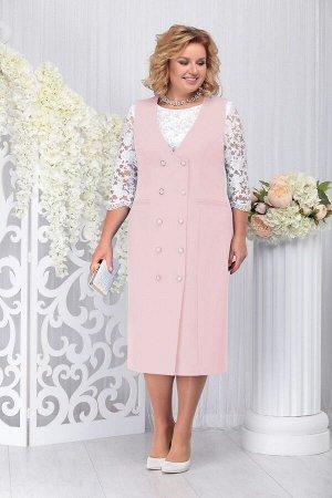 Блуза, платье Ninele Артикул: 7254 пудра
